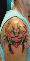 Traditional Tattoo by flaviudraghis