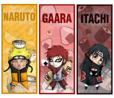 Naruto Chibi Food Set 1 by HyruleMaster