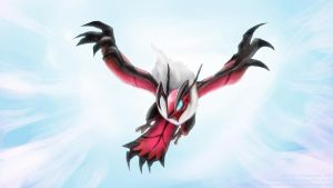 Yveltal by slifertheskydragon