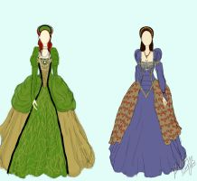 The Tudor Sisters by bethbisme