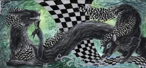 ACEO Checkered by Sysirauta