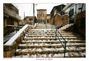 Jerusalem In White by Aderet