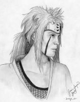 Young Jiraiya by PirateCaptainJess