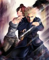 Commission - TenTen/Lara and Naruto/Corvo by Sayaka-ssi