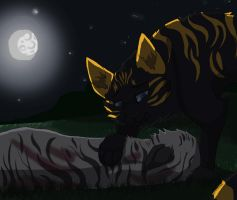 Blackstripes Death by mouseclaw13