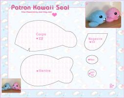 Kawaii Seal Pattern by Prettymimy