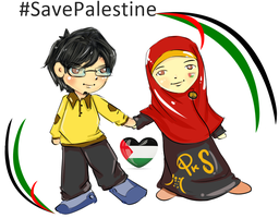 save palestine by fiyalayanfa2
