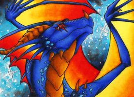 ACEO- Saurro by Sky-Shifter