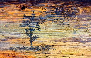 wooden painting. by Altingfest