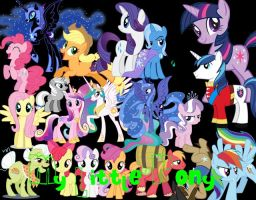 My Little Pony PNG PACK by SashaDeNile