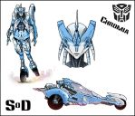S.o.D Chromia colors by LoneOld