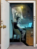 TeeVillain: The Woman Chained to the Desk by Taylor-the-Weird