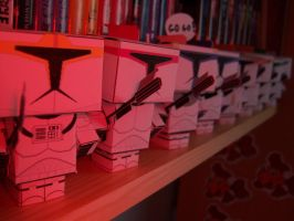 Star Wars Cubee Clone Troopers by Starfic