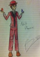 Art Trade: Adult!Phoenix by ShadaIsHungry