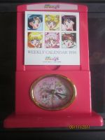 Sailor Moon Clock and calendar by Jelenity