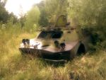 Pripyat Vehicle by Rakenesh