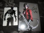 Signed Resident Evil 6 game with Autograph by DarkGamer2011