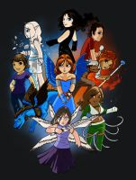 Avatars Poster Colored by Anavar