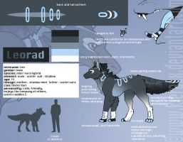 Leorad Reference Sheet by Kieraux