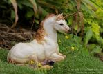 Light Rocky Mountain Unicorn Windstone by Nambroth
