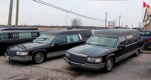 Used Hearse Lot by boogster11