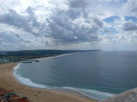 Nazare from above by dcheeky
