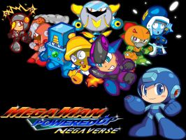 Mega Man Powered Up Negaverse by spdy4