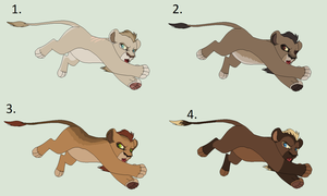 Male cub Adoptables: Closed by Sukida-Adopts