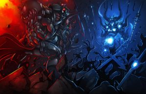 Dage Vs Nulgath by DageThe3vil