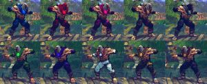 USFIV T.Hawk The Hawk 10 color packs by monkeygigabuster