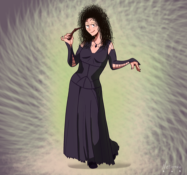 Bellatrix - Harry Potter | Day 19 by Netierrez