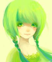 Green goddess by Mokonochan