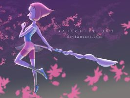 Pearl from Steven Universe by Raikoh-illust