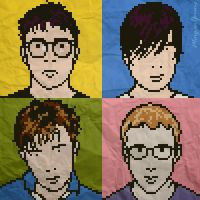 Blur: The Best Of  8 bit Album Cover by MorganYoung