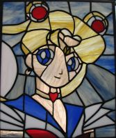 Sailor Moon Stained Glass by AutobotWonko
