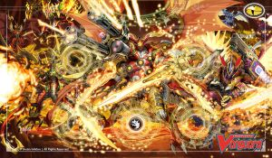 Cardfight!! Vanguard Playmat - Kagero Clan by haklon