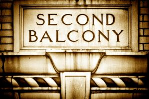 Second Balcony: Paducah's Columbia Theatre (Sepia) by TomFawls
