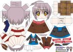 Yuki Nagato papercraft by ELJOEYDESIGNS