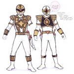 Double White Rangers in Colou by Neumatic