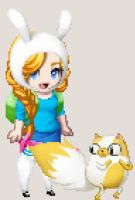 Fionna Pixel by lagoonafan