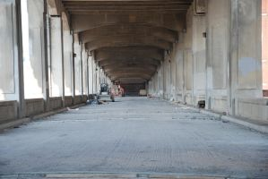 Under the Downtown Bridge 3 by krissybdesignsstock