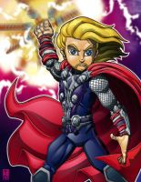 Lil Avengers - Thor by lordmesa