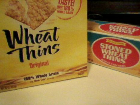 some wheat thins are higher than others by akaikya