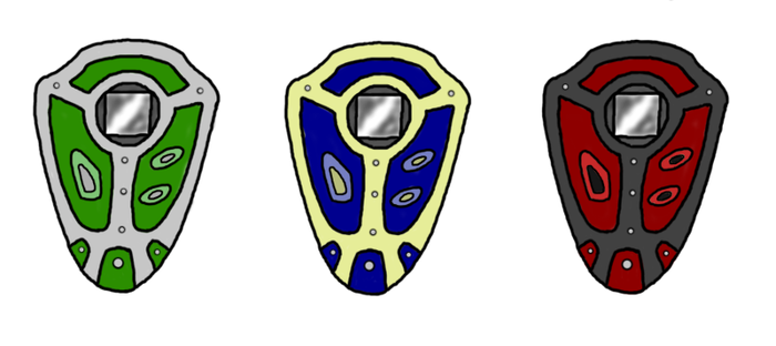 Custom Digivice with color variations by lordturtlemonk