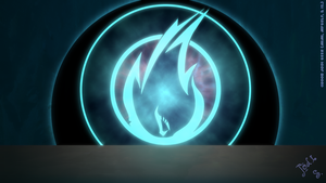 Blue Flames Squadron Seal by jodi-seer