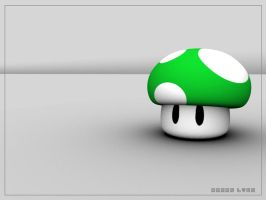 1UP Wallpaper by 02lyons