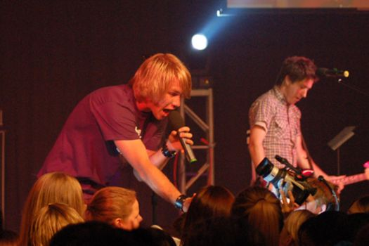 Jason and Dan of Hawk Nelson by schoonimages