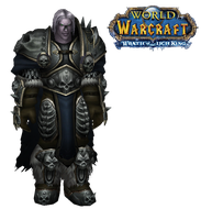 WoW Undead Arthas Cut Out by atagene