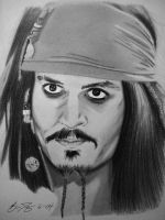 Jack Sparrow by golfiscool