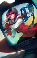 Haruko Haruhara by Mr--Jack